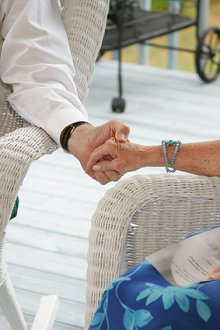 Home. Library Image: Couple Hold hands